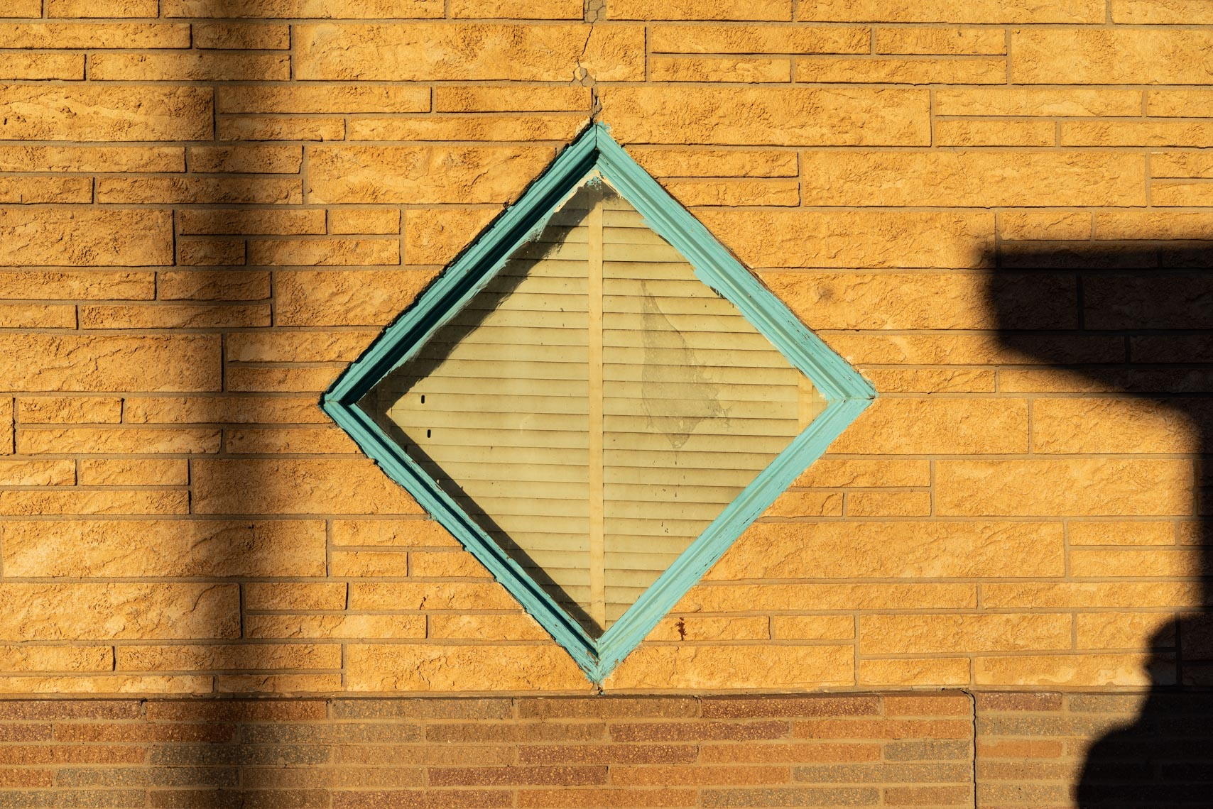 Mid-Century Cafe Window, | Tucumcari, NM