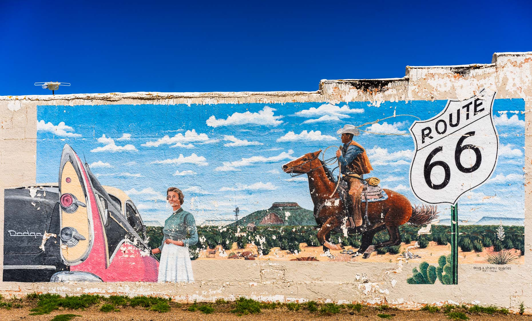 Cowboy Graffiti | Route 66
