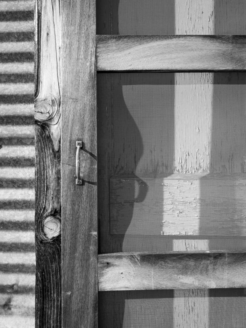 Bunkhouse Screen Door Closed
