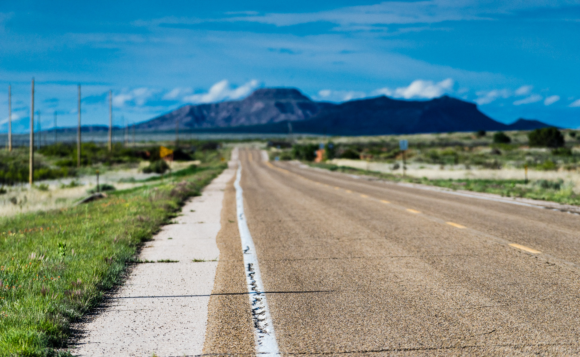 Tucumcari | Road Outside Town