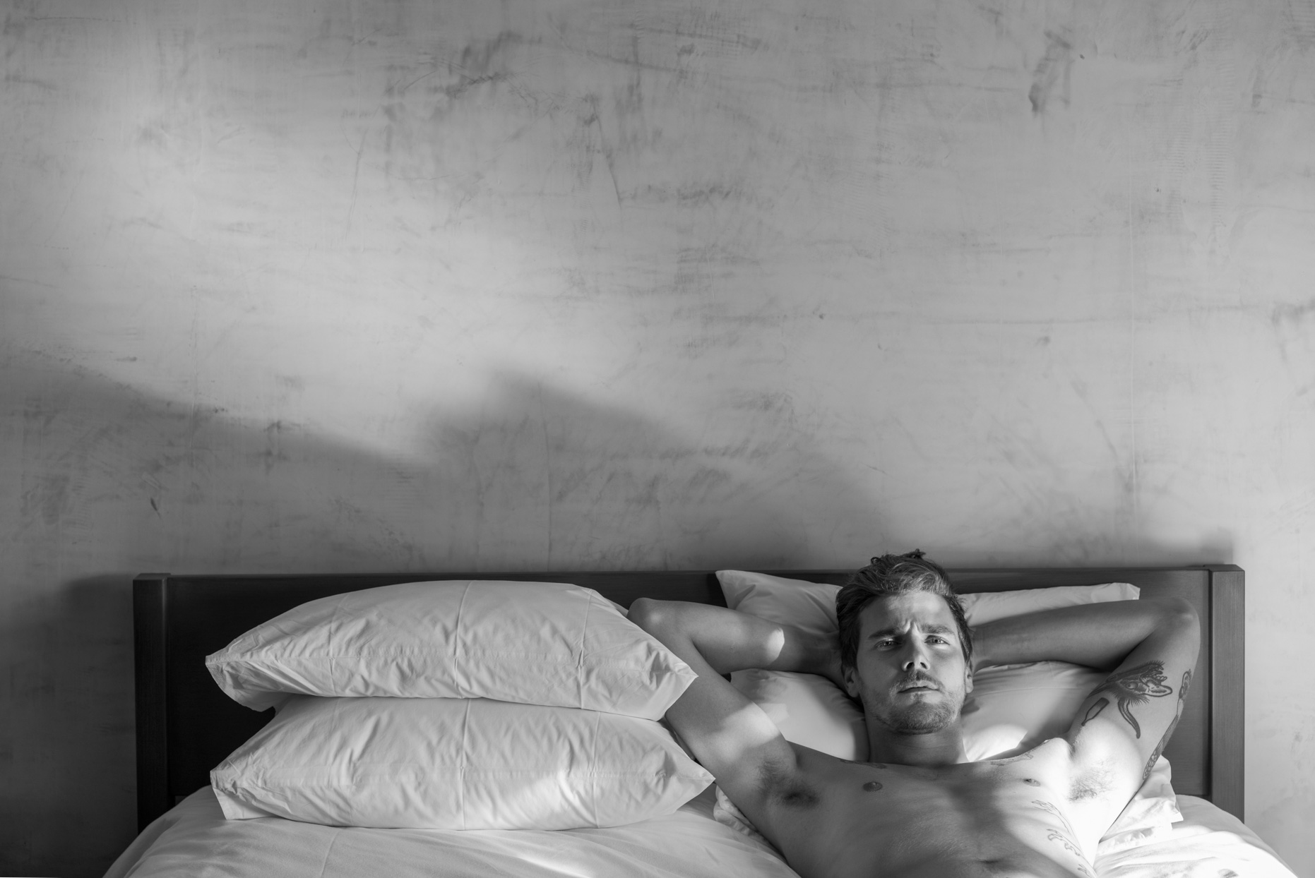 Thom Jackson Fine Art Photo__Matt in the Bed Portrait