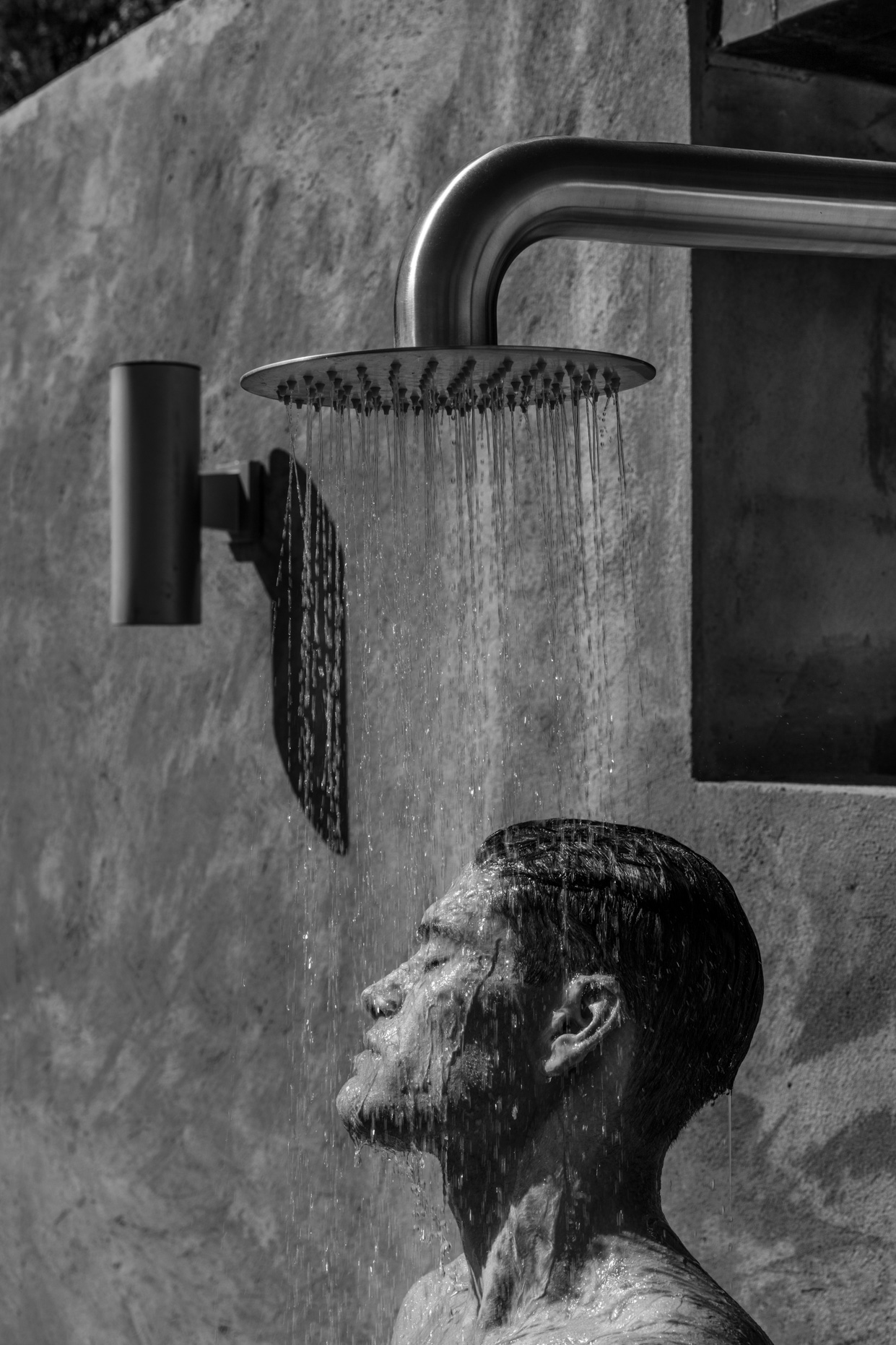 Thom Jackson Fine Art Photo_Edward in the Shower